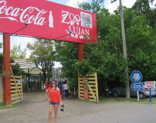 Entrada do Zoo