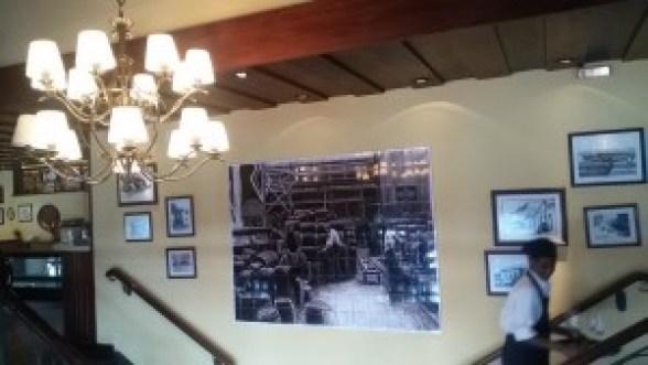 Ambiente de época do Café Girondino. Foto: Patrícia Ribeiro/ Passeios Baratos em SP