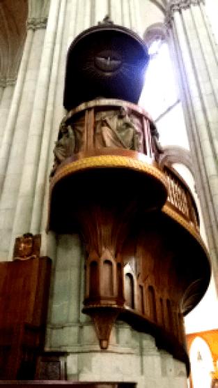 Detalhe da Catedral da Sé. Foto: Patricia Ribeiro/ Passeios Baratos em SP