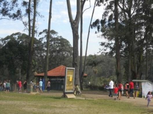 O parque conta playgrounds, quiosques e cerca de 80 churrasqueiras. Foto: Sueli dos Santos/ Passeios Baratos em SP