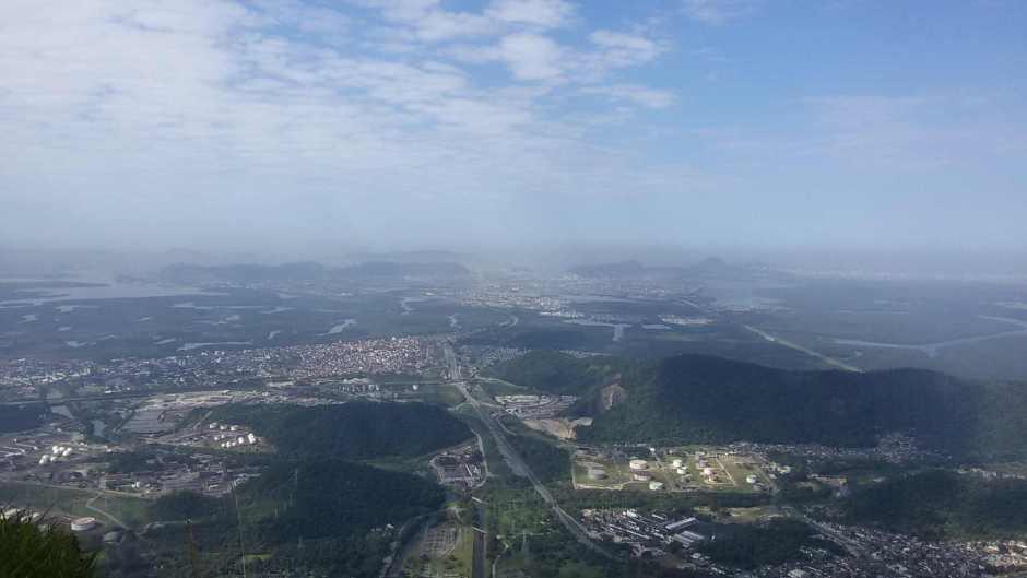 Vista da Baixada Santista. Parque Caminhos do Mar. Foto: Patrícia Ribeiro/ Passeios Baratos em SP