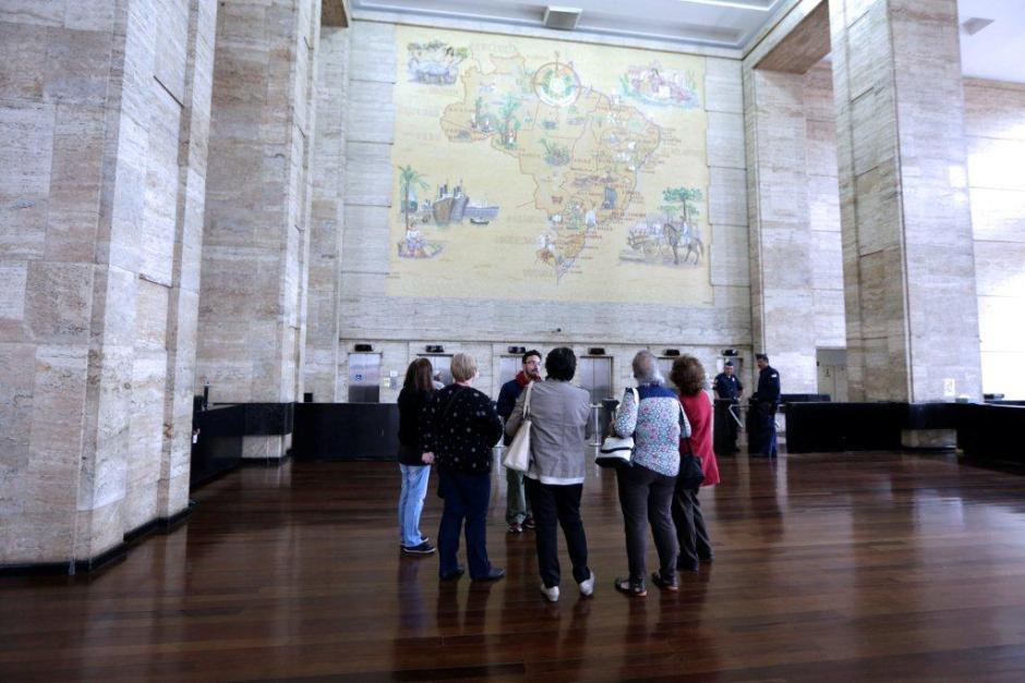 Hall de entrada Foto: José Cordeiro/SPTuris