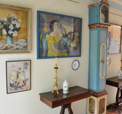 Acervo de arte da Casa Guilherme de Almeida Foto: Elias Gomes
