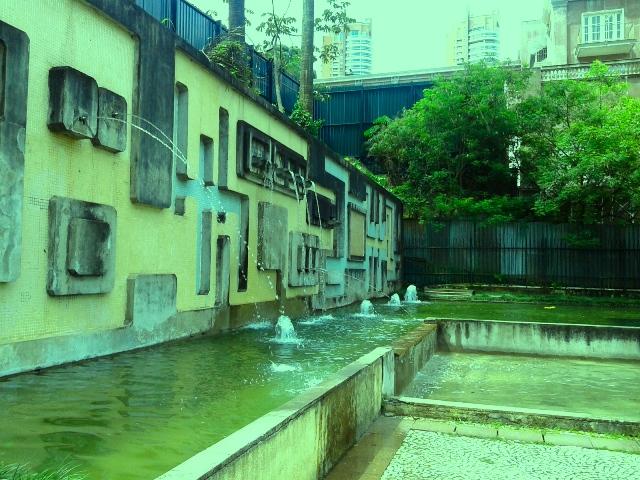 Fontes do Parque Burle Marx Foto: Patrícia Ribeiro/Passeios Baratos em SP