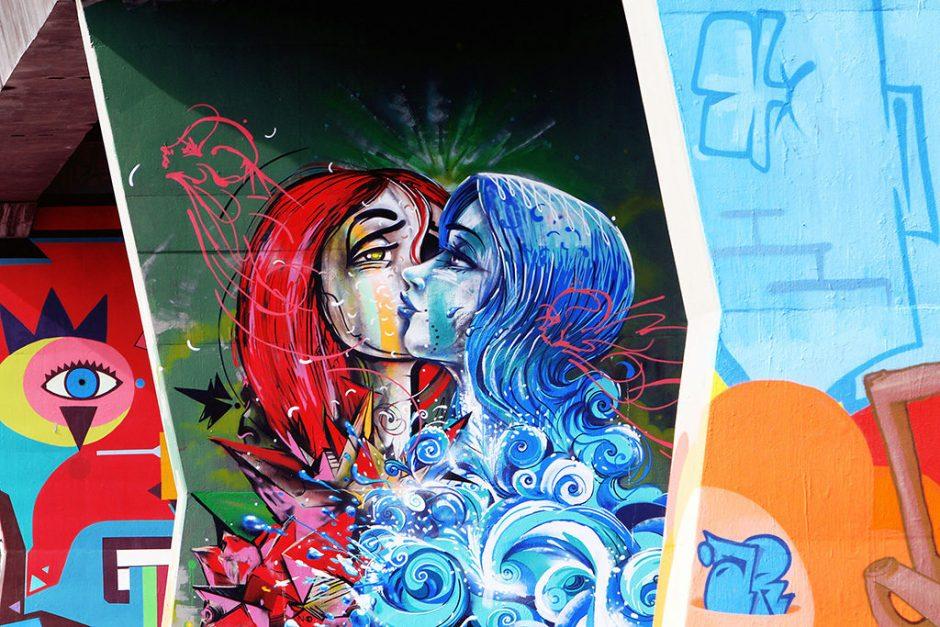 GRAFITE – SÃO PAULO (SP) - 21.11.2011 – GERAL – MUSEU A CÉU ABERTO LOCALIZADO NA AV. CRUZEIRO DO SUL,SANTANA - ZONA NORTE – FOTO: CAIO PIMENTA/SPTURIS