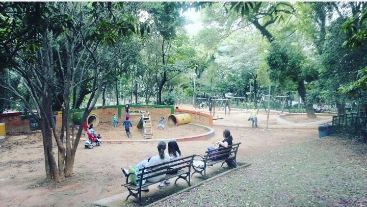 Espaço para as crianças brincarem Foto: Vilma Alcântara
