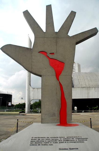 Memorial da América Latina Foto: Dani Agostini