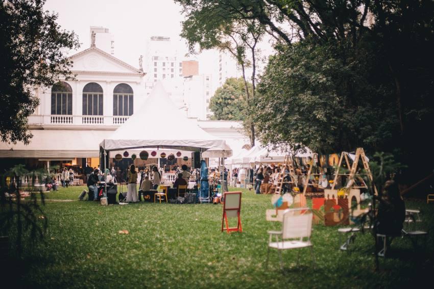 Jardim do Museu da Casa Brasileira Foto: Gleice Bueno