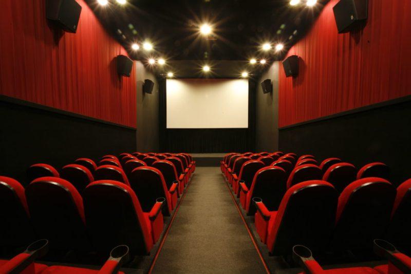 A sala de cinema exibe documentários e produções independentes Foto: Divulgação