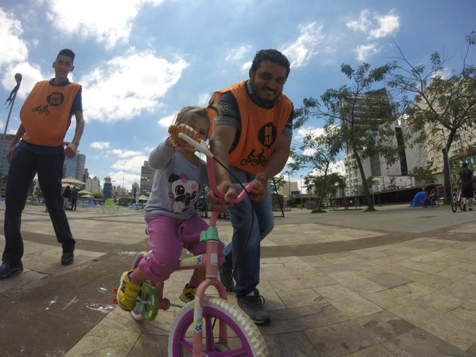 A ong Bike Anjo já atua em diversas cidades brasileiras Foto: Divulgação