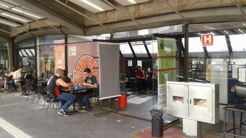 Mão na Roda no Centro Cultural São Paulo Foto: Cauê Salem