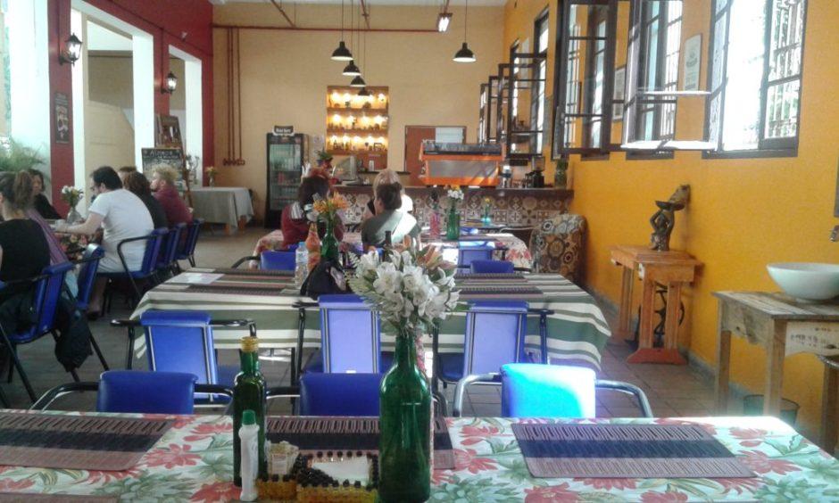 Ambiente do Café Colombiano Foto: Patrícia Ribeiro/Passeios Baratos em SP