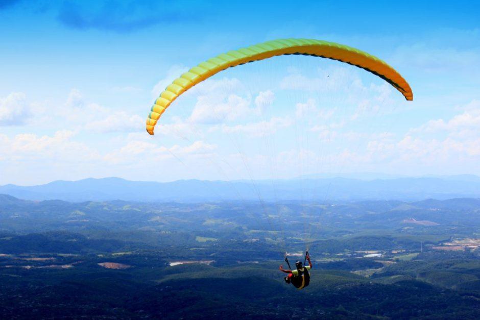 Parapente no Pico do Urubu