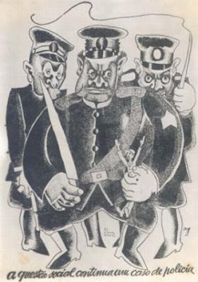 Desenhos de Di Cavalcanti co conotação política