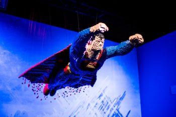 Maior exposição de Lego do mundo,  DC Super Heroes, começa em setembro