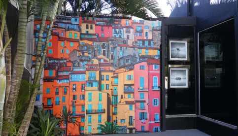 Arte na rua Fradique Coutinho. Foto: Patrícia Ribeiro/ Passeios Baratos em SP