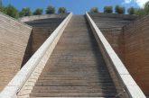 Petra - escadas sobre a cantina