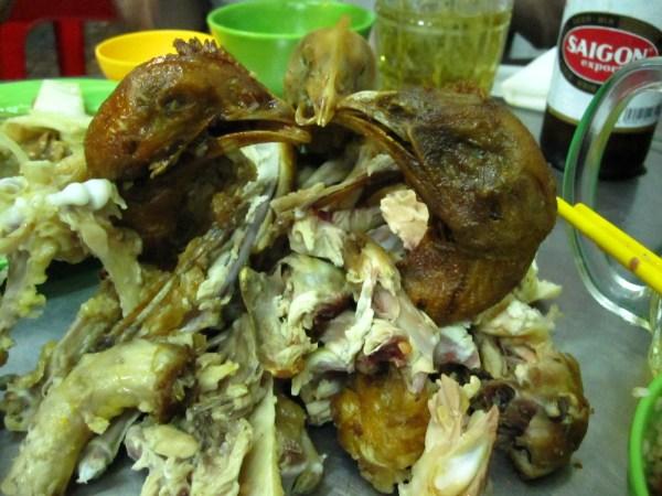 Blow Skin Chicken
