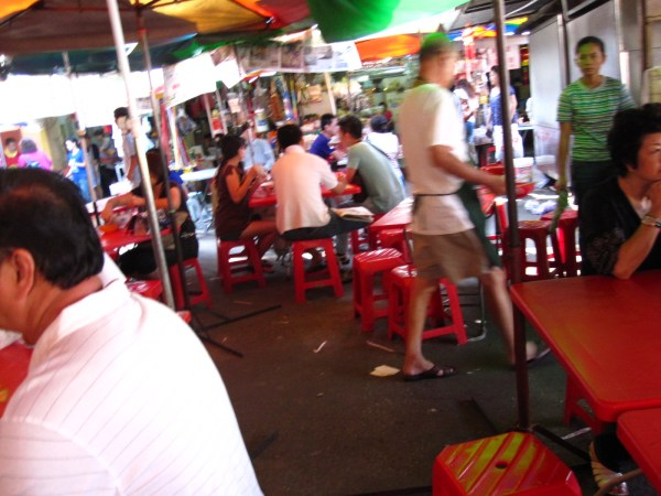 Imbi Market, breakfast street food galore.