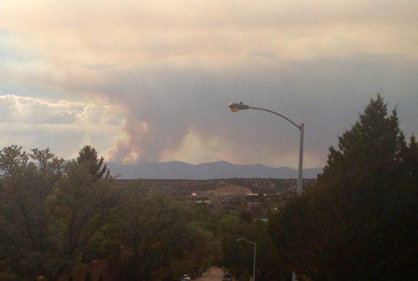 wildfire, Santa Fe