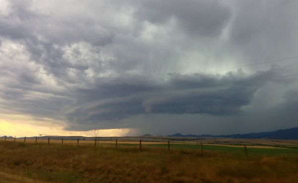 Even Montana's storms are a little more epic