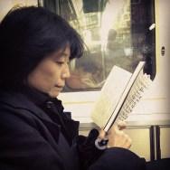 Reader     by Fran Simó japan, passengers, tokyo, ubiquography,
