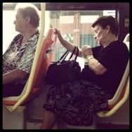 Untitled by Rodrigo Gómez bus, italia, morning, passengers,