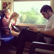 Readers generations  by Fran Simó passengers,