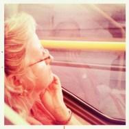 Passenger in Praha      by Rodrigo Gómez alfredinfrared, foxy, hipstamatic, passengers, praha,