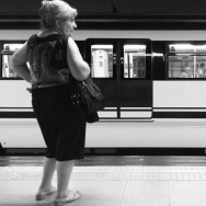 Waiting for something to happen. Madrid, Spain by zoltan_enevold blackandwhite, bnw, love, madrid, metro, monoart, monochrome, passengers, photographer, photography, picoftheday, shoutout, streetphotography, streetshot, streetstyle, subway, train, transport, webstagram, webstapick, woman,