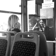Reflections                by Benjamín Julve blackandwhite, bw, igers, iphonesia, monochrome, passengers, photooftheday, sarajevo, statigram, transport, ubiquography, webstagram,