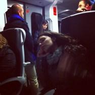 New trains, big chairs   by Joan Torrens passengers, tallerdefotos,