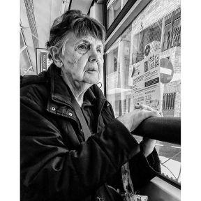 Pasajera del 53 by Antonio Jiménez Lara emt, madrid, passengers, people, streetlife, streetphotography, streetphotomadrid, streetportrait, total_streets,