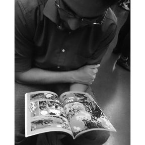 Some readings are timeless....   algumas leituras são atemporais como o mangá... by Paulo Wang achadosdasemana, all_bnwshots, amigersbr, bnw_universe, brbw, brstreet, bwstylesgf, capturestreet, click_vision, fotomissao, ic_streetlife, ig_saopaulo, ig_street, instadozamigos, jornalistasdeimagens, mafia_streetlove, mangaart, mobgraphia, mono_street, new_chiquesnourtemo, passengers, rsa_streetview, shootermag_brasil, spdagaroa, streetbwcolor, streetphoto_brasil, super_saopaulo, vejocotidiano, vejo_sp,