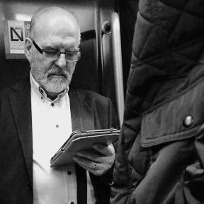 Lector by Antonio Jiménez Lara commuters, madrid, metro, passengers, streetlife, streetphotography, total_streets,