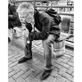 Estampas del andén by Antonio Jiménez Lara cercanías, commuters, madrid, passengers, streetlife, streetphotography, streetphotomadrid, total_streets,