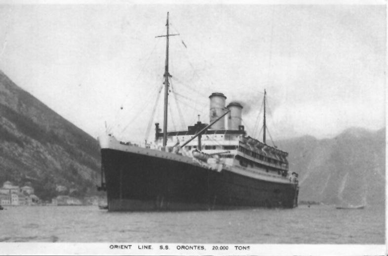 ORONTES Passengers In History
