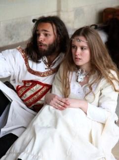 """Lancelot et Elaine d'Astolat, spectacle """"Lancelot"""""""