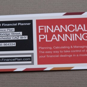 Re-spell CAREER as Financial Planning!