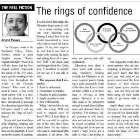 The rings of confidence