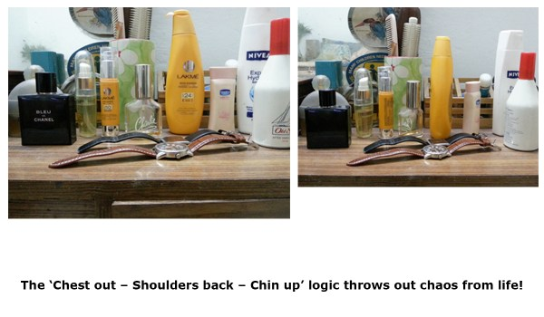 Chest out – Shoulders back – Chin up_cosmetics