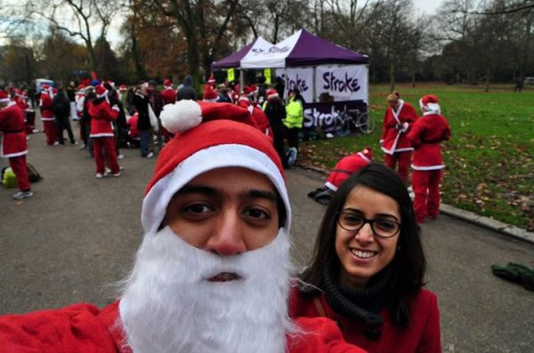 Pipi_his Santa Run made running look so much more fun