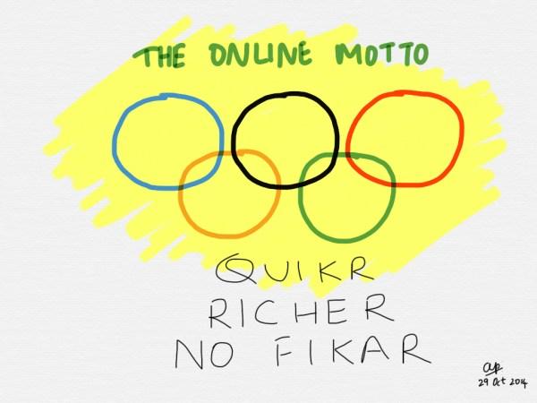 Quikr is indeed an online gold medallist