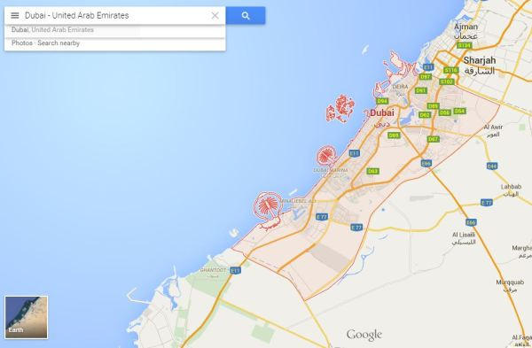 Dubai_map
