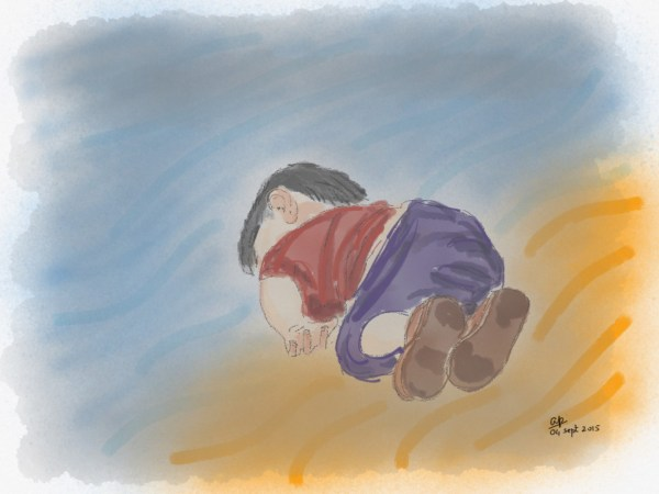 Aylan is no more... but borders remain