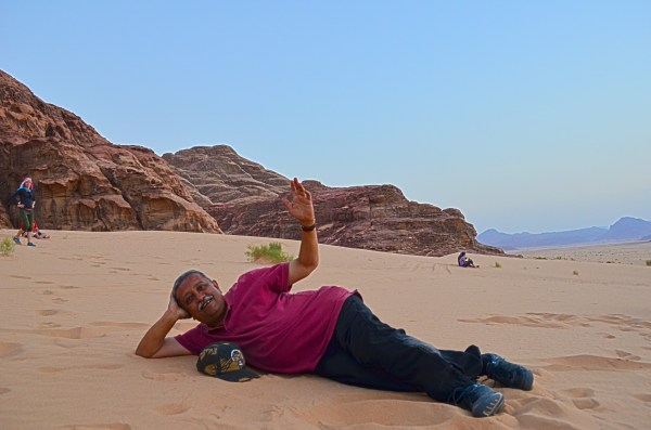 Wadi Rum, Jordan... where you can listen to what the sand hums in your ears