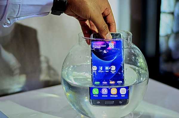This galaxy device is much more than just water resistant...