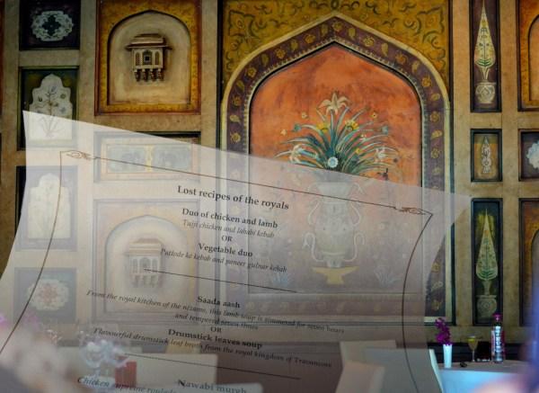 Varq at The Taj Mahal Hotel... lost recipes of the Royals