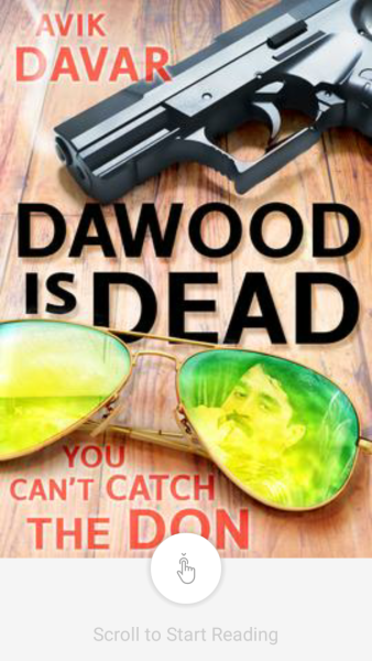 'Dawood is Dead' by Avik Davar or Subramanyam Vidalur Divvaakar. Book available on Juggernaut.