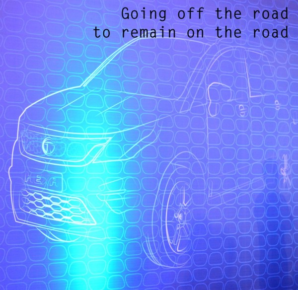 Tata Hexa - Going off the road to remain on the road